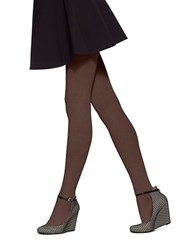 Hue Micro Rib Sweater Tights Espresso