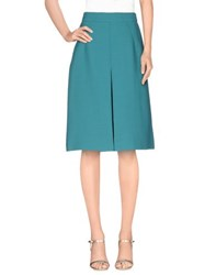 Essentiel Skirts Knee Length Skirts Women Turquoise