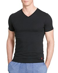 Polo Ralph Lauren Stretch Comfort V Neck Tee Pack Of 2 Polo Black
