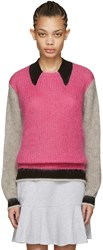 Kenzo Pink Mohair Sweater
