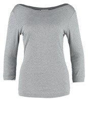 Opus Subanki Long Sleeved Top Strong Grey