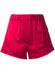 Manning Cartell Front Pocket Shorts Red