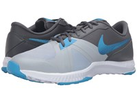 Nike Air Epic Speed Tr Wolf Grey Dark Grey Cool Grey Blue Glow Men's Cross Training Shoes