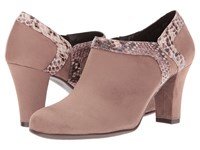 Aerosoles Day Strole Taupe Snake High Heels