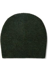 Etoile Isabel Marant Gordon Alpaca Blend Beanie Dark Green