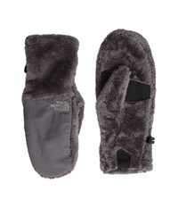 The North Face Denali Thermal Mitt Rabbit Grey Extreme Cold Weather Gloves Gray