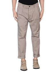 Gazzarrini Trousers Casual Trousers Men Grey