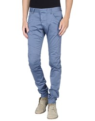 Pierre Balmain Trousers Casual Trousers Men Slate Blue