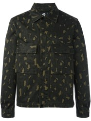 Paul Smith Ps By Camouflage Print Jacket