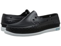 Native Howard Jiffy Black Shell White Shoes