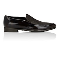 Giorgio Armani Men's Venetian Loafers Dark Brown