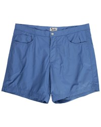 Hartford Blue Denim 5 Pocket Swim Shorts