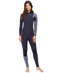 Billabong 302 Furnace Carbon Competition Chest Zip Wetsuit Blue Women's Wetsuits One Piece