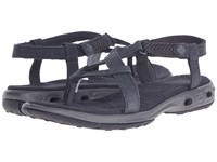Columbia Abaco Vent Shark Quarry Women's Sandals Black