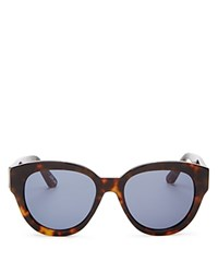 Elizabeth And James Atkins Wayfarer Sunglasses 55Mm Tortoise Blue Solid
