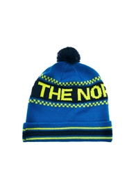 The North Face Ski Tuke Iv Bobble Beanie Hat Blue
