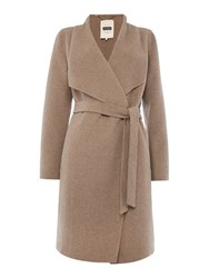 Part Two Beautiful Soft Wool Crafted Coat Brown