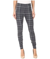 Lysse Arbor Leggings Plaid Flannel Women's Casual Pants Gray