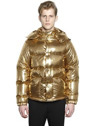 Ports 1961 Metallic Nylon Quilted Down Jacket