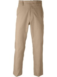 Valentino Straight Leg Trousers Nude And Neutrals