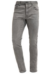 Earnest Sewn Bryant Slim Fit Jeans Waney Grey Destroyed Denim
