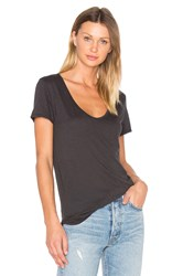 Velvet By Graham And Spencer Dree Tee Charcoal