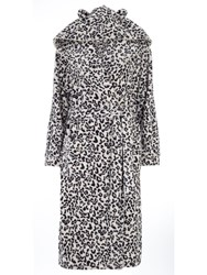 Dorothy Perkins Leopard Dressing Gown Cream