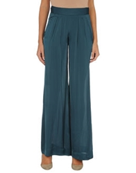 Donna Karan Collection Casual Pants Deep Jade