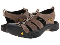 Keen Newport White Pepper Black Men's Shoes Brown