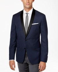 Bar Iii Men's Jacquard Shawl Collar Slim Fit Jacket Only At Macy's