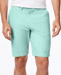 Tommy Hilfiger Men's Core Classic Fit Chino Shorts Blue Surf