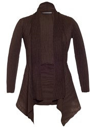 Chesca Crush Pleat Jacket Brown