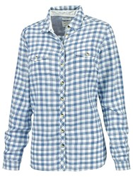 Fat Face Classic Fit Checked Shirt Navy Multi
