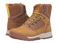 Salomon Utility Pro Ts Cs Wp Camel Gold Leather Pantine Bee X Men's Shoes Purple