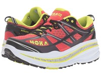 Hoka One One Stinson 3 Atr Cayenne Acid Men's Running Shoes Red