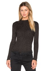 Glamorous Turtleneck Top Black