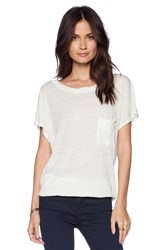 Lamade Ellis Pocket Tee Cream