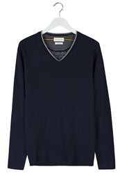 Harris Wilson Larry Jumper Marine Dark Blue