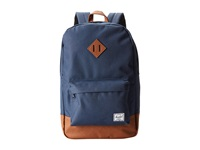 Herschel Heritage Navy Tan Backpack Bags Blue