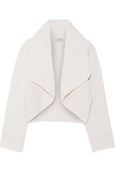 Temperley London Catalin Wool Blend Jacket White