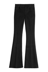 Mother The Quickie Cruiser Flared Jeans Black