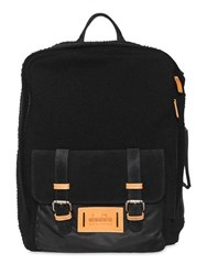 Diadora Brushed Felted Wool Backpack