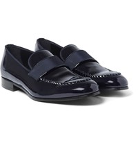 Brioni David Patent Leather Loafers