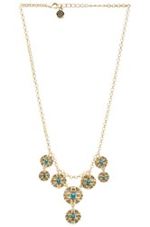 House Of Harlow Maricopa Coin Collar Necklace Metallic Gold