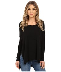 Culture Phit Kameron Sweater With Pocket Black Women's Sweater