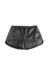 Karl Lagerfeld Leather Shorts