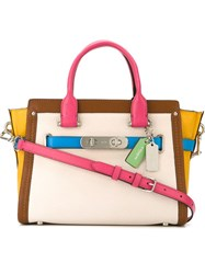 Coach 'Swagger' Tote Bag Multicolour