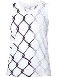 Carven Wire Print Tank Top
