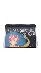 Charlotte Olympia The Girl Who Fell To Maggie Clutch Multi