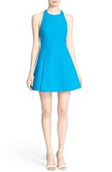 Women's Alice Olivia 'Christie' Cotton Fit And Flare Dress